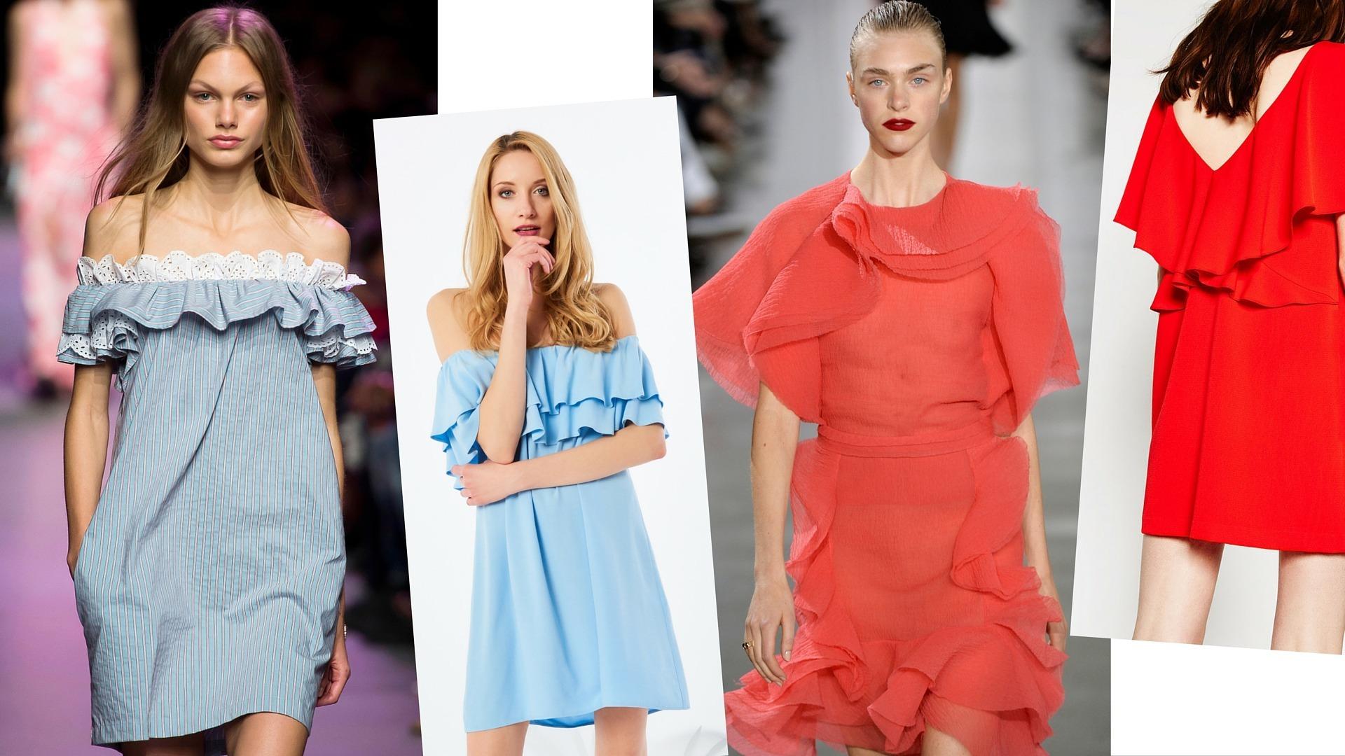 04b406ea51 Najmodniejsze sukienki na wiosnę 2016 - Wizaz.pl