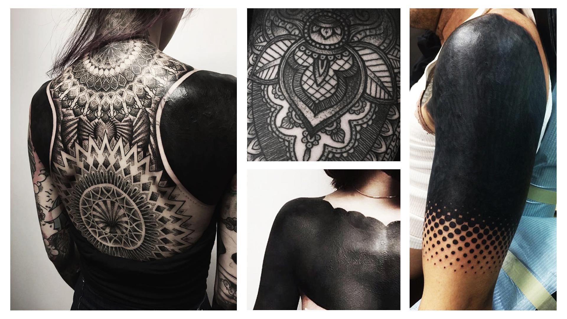 Tatuaze Damskie Czarne Tatuaze Po Nowemu Wizaz Pl