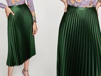 plisowana spódnica z Zary