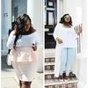 Szykowna i elegancka puszysta piękność Chanel Boateng