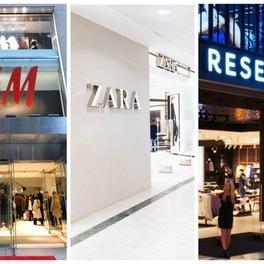 sklepy HM Zara Reserved