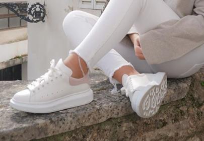 białe buty sportowe alexander mcqueen