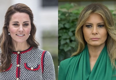 kate middleton i melania trump