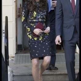 Kate Middleton w sukience Erdem/fot. EN