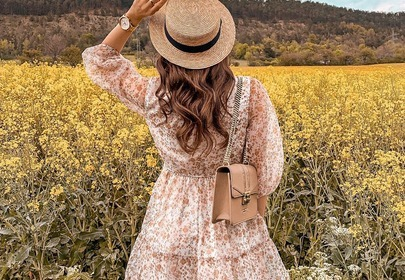 sukienka w kwiaty lidl