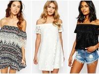 Bluzki i sukienki – odkryte ramiona