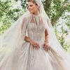 Pierwsza suknia ślubna Christiny Mourad