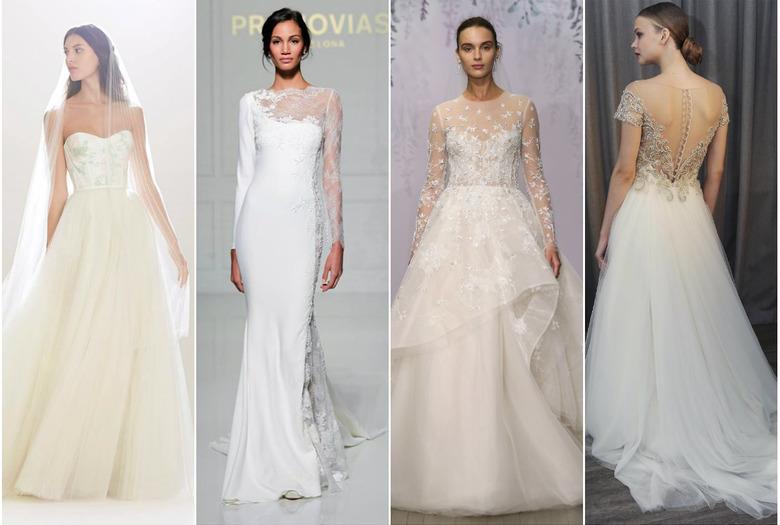 c37d9113ab najpiękniejsze suknie ślubne 2016 8 zdjęć. Pronovias · Carolina Herrera · Oscar  de la Renta ...