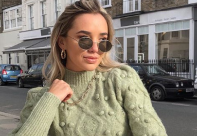 zielony sweter z zary