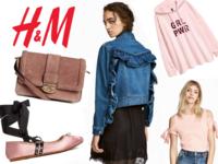wyprzedaż h&m lato 2017 dżinsowa kurtka zamszowa torebka