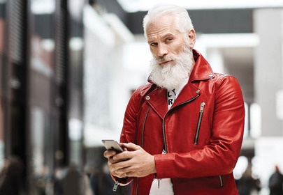 fashion santa