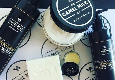 kosmetyki z mlekiem wielbłąda