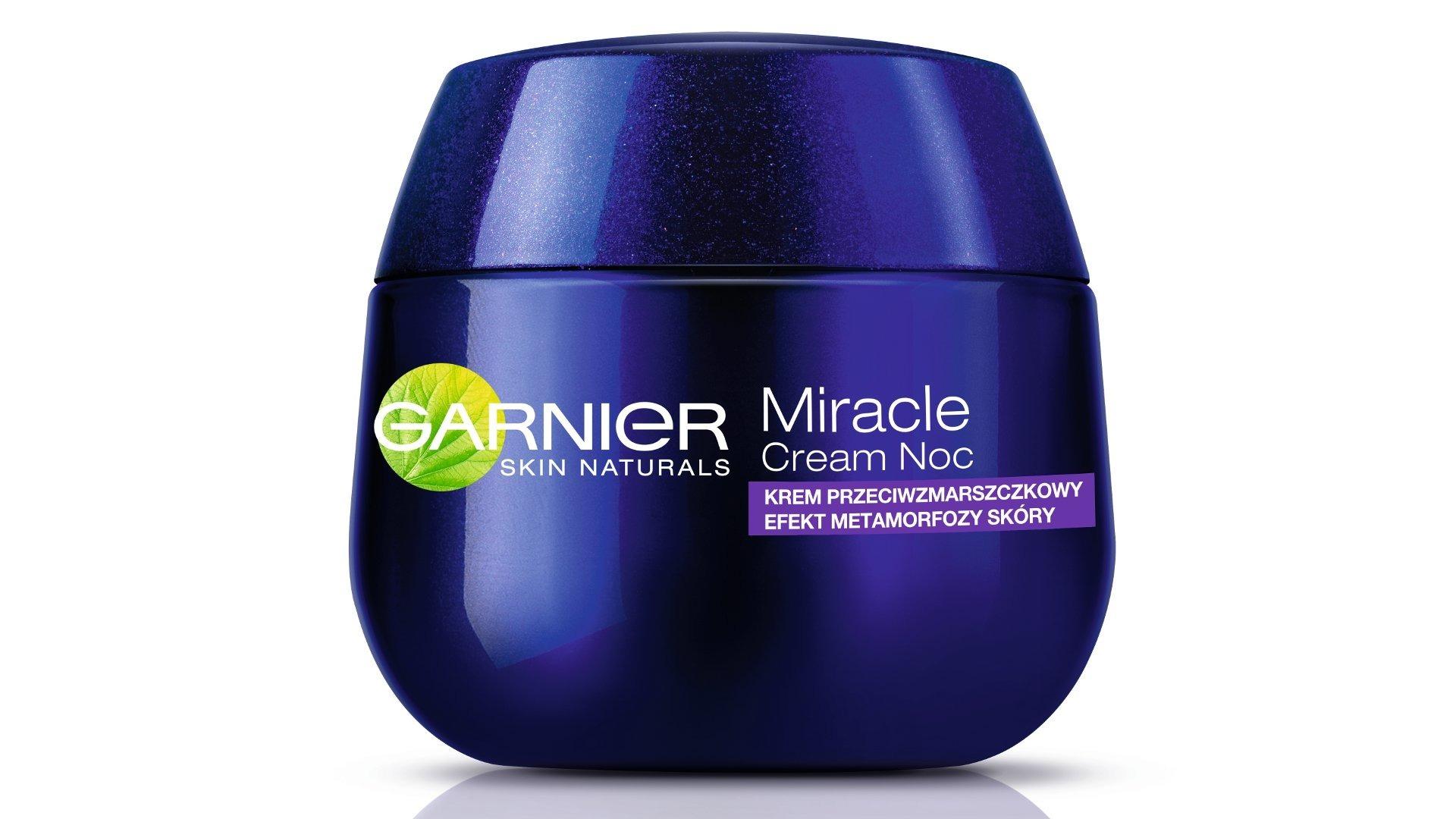 Nowy Miracle Cream Noc Garnier Wizazpl