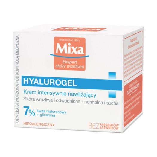 Krem intensywnie nawilżający Mixa Hyalurogel