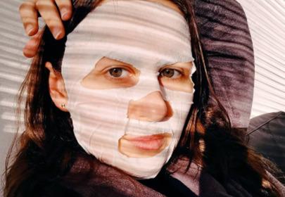 maska w płachcie