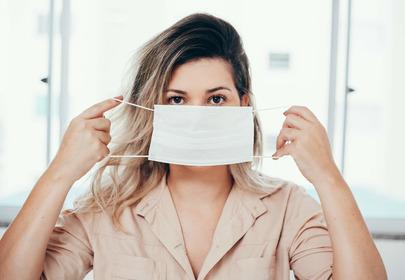 maske, czyli trądzik od maseczki