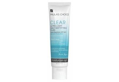 Clear Ultra-Light Daily Mattifying Fluid SPF 30+ Paula's Choice