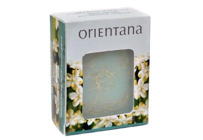Naturalne mydło Orientana z gąbką złuszczającą luffa