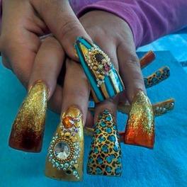 Najbrzydszy manicure - zobacz ZDJĘCIA