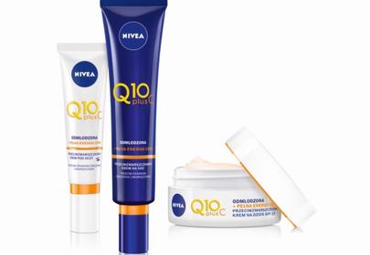 silnie energetyzująco-antyoksydacyjna kuracja z nową linią NIVEA Q10plusC opartą o czystą witaminę C