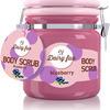 Aromatyczny peeling solny do ciała Diary Fun o zapachu jagody, 25zł