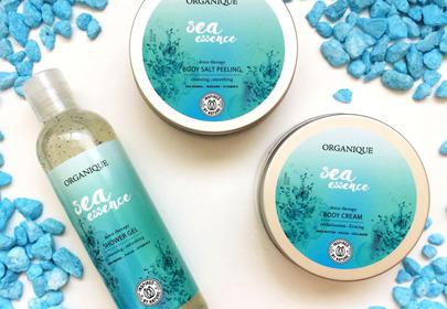 kosmetyki do ciała Organique Sea Essence