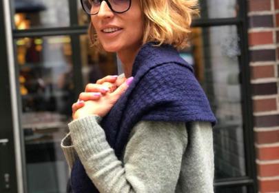 Tatiana Mindewicz-Puacz zmieniła kolor włosów z blondu na rudy