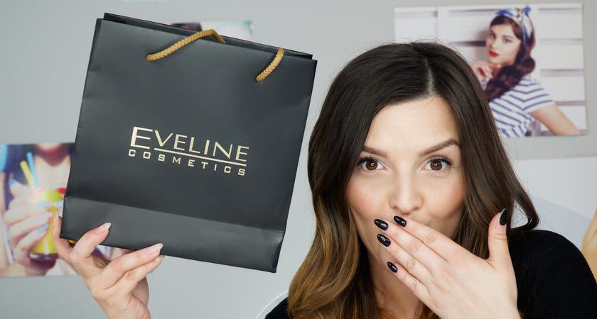 dziewczyna testuje lakiery hybrydowe Eveline