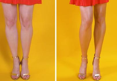 Jak optycznie wysmuklić i opalić nogi? [WIDEO]