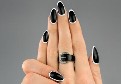 paznokcie nails frame Semilac