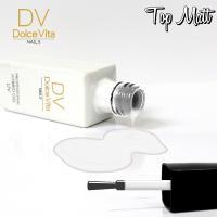 DV Dolce Vita Nails, Top Matt (Matowy top do lakierów hybrydowych)